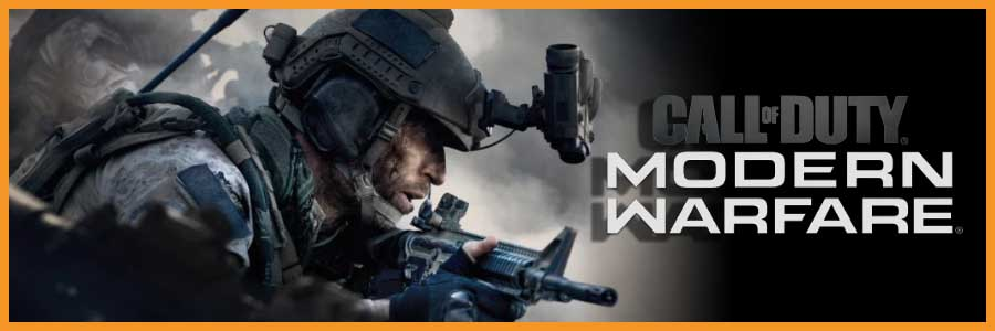 Banniere call of duty modern warfare