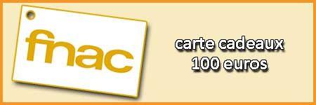 Carte Cadeau FNAC