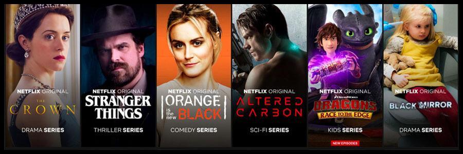 Programmes Originaux Netflix