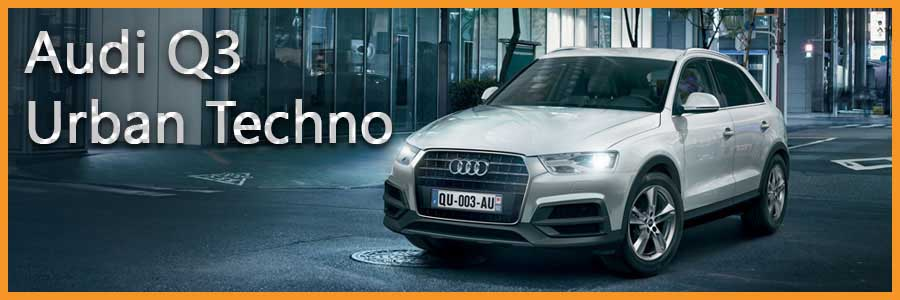 Audi Q3 Urban Techno