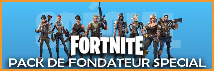 Fortnite Pack de Fondateur Spécial
