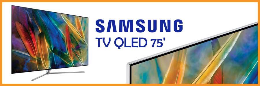 TV Samsung QLED 75''